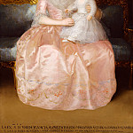 Goya – Condesa de Altamira and Her Daughter, María Agustina, Metropolitan Museum: part 4