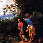German artists - Elsheimer, Adam, Follwer of (German, mid-late 1600s)