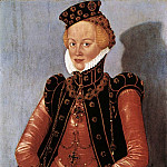 German artists - CRANACH Lucas the Younger Portrait Of A Woman