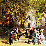 German artists - Hennings Johann Friedrich After Church