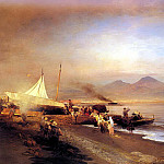 German artists - Achenbach Oswald The Bay Of Naples