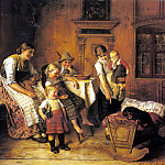 German artists - Eberle Adolf The Intruder