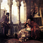 Othello Relating His Adventures to Desdemona, Немецкие художники
