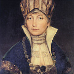 German artists - Portrait of a Woman in a Bonnet