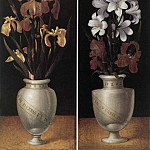 German artists - RING Ludger tom the Younger Vases Of Flowers