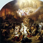 German artists - KAULBACH Wilhelm von The Destruction Of Jerusalem By Titus