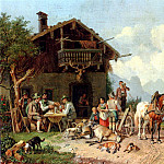German artists - Burkel Heinrich After The Hunt