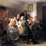 German artists - Eberle Adolf The Sour Note