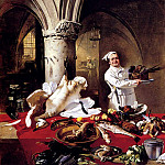 German artists - Hoguet Charles Les Preparatifs Du Festin