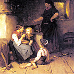 German artists - Epp Rudolf Feeding The Baby