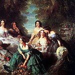 German artists - Winterhalter, Franz-Xaver (German, 1805-1873) 2