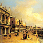 German artists - Grubacs Carlo A View Of The Doges Palace