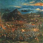 German artists - The Battle of Alexander WGA