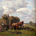 German artists - Thomassin Desire The Hay Harvest