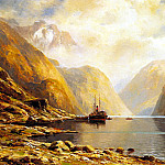 German artists - Eckenbrecher Themistocles Von Naero Fjord