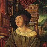 HOLBEIN Ambrosius Portrait Of A Young Man, Немецкие художники