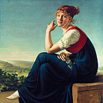 Alte und Neue Nationalgalerie (Berlin) - Christian Gottlieb Schick (1776-1812) - Portrait of Heinrike Dannecker