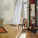 Louis Gallait - Adolph von Menzel (1815-1905) - The Balcony Room