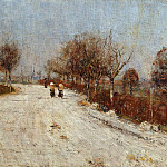 Adolf Holzel - ChChristian Rohlfs (1848-1938) - The Road to Gelmeroda