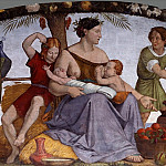 Johann Friedrich Overbeck - The Seven Fat Years