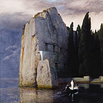Lothar von Seebach - Arnold Bocklin (1827-1901) - The Isle of the Dead