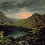 Karl Friedrich Lessing - Ludwig Richter (1803-1884) - Lake in the Riesengebirge
