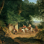 Ludwig Richter - The Well in the Wood at Ariccia