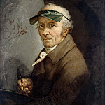 Joseph Anton Koch - Anton Graff (1736 - 1813) - Self-Portrait with Eye-shade