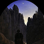 Carl Gustav Carus – Pilgrim in a Rocky Valley