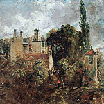 Johann Anton Ramboux - John Constable (1776-1837) - The Grove, or the Admiral's House in Hampstead