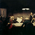 Johann Peter Hasenclever - Johann Peter Hasenclever (1810 - 1853) - The Reading Room