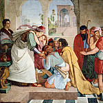 Johann Friedrich Overbeck - Peter von Cornelius (1783-1867) - Joseph Reveals Himself to His Brothers