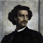 Otto Knille - Anselm Feuerbach (1829 - 1880) - Self-Portrait