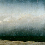 Caspar David Friedrich – Monk by the Sea