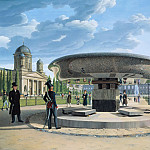 Johann Erdmann Hummel - The Granite Dish in the Berlin Lustgarten