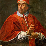 Italian Artist - Portrait of Pope Clement XI