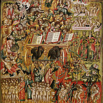 Bastiano Mainardi - Byzantine art - Last Judgment