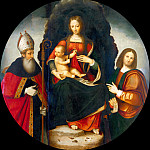 Tommaso Bernabei - Lombard Painter - Madonna of the Girdle