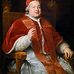 Daniel Seghers - School of Rome - Portrait of Pope Clement XIII