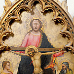 Musei Vaticani - Florentine School - God the Father, Christ Crucified and Saints