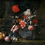 Daniel Seghers - Dutch School - Flowers and Fruit
