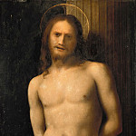 Giovanni Bellini - Lombard Painter - Christ on a Column