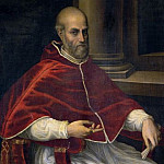 Italian Artist - Portrait of Pope Marcellus II Cervini