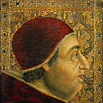 Luca di Tomme - Spanish School - Portrait of Pope Alexander VI