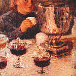Igor Grabar - grabar_by_the_samovar_1905