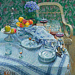 Igor Grabar - The uncleared table