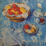 Igor Grabar - The blue tablecloth