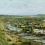 Vasily Maksimov - View of Rybinsk city