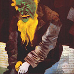Marc Chagall - chagall_jew_in_green_1914