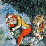 Marc Chagall - Chagall, Marc - The Cockerel (end
